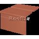 King Klinker комплект римский рифленый красный