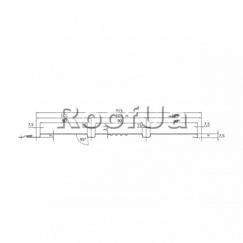 Soffit line 30/polyester