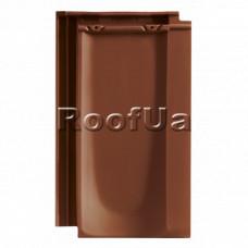 Черепица Tondach Болеро коричневая, ангобированная