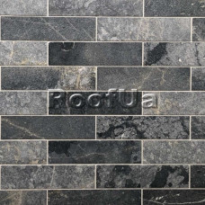 Мрамор Black Marble SANDBLASTED & BRUSHED 1x7,5x20,3 см