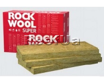 Rockwool superrock 1000х610х50 мм