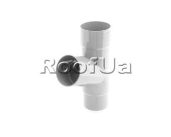 Тройник трубы bryza 125/90 мм