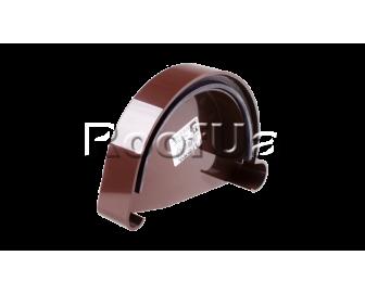 Заглушка желоба левая l profil 130/100 мм