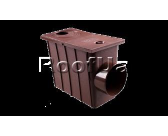 Колодец с боковым сливом profil 130/100 мм