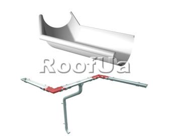 Угол внешний 135° ruukki 150/100 мм
