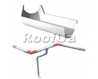 Угол внутренний 135° ruukki 125/90 мм