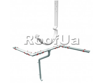 Крюк длинный ruukki 125/90 мм