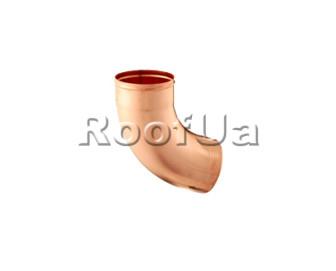 Колено 72° со скрытым швом zambelli 127/80 мм