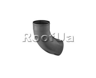 Колено 72° с 2-мя швами zambelli 127/80 мм