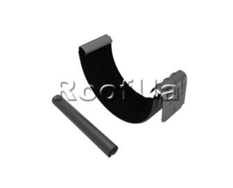 Соединитель желоба с трубкой zambelli 127/80 мм