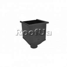 Воронка квадратная-водосборник Zambelli 127/80 мм