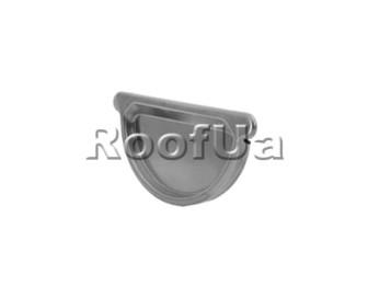 Заглушка желоба с уплотнителем zambelli 127/80 мм