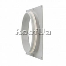 Фланец наружной вентиляционной решетки 160 мм (240x240)