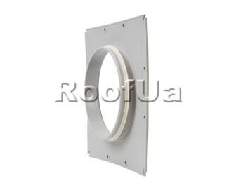 Фланец наружной вентиляционной решетки 200 мм (375x375)